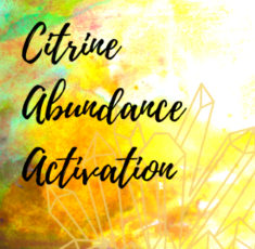 Citrine Abundance Activation